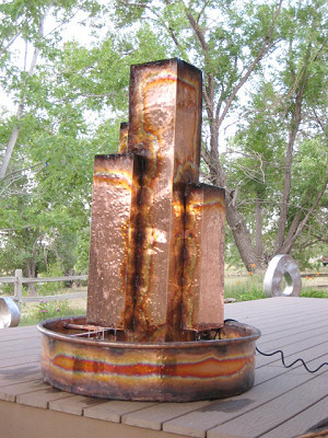 Copper Fountains -  My Capital Bank Metropolis