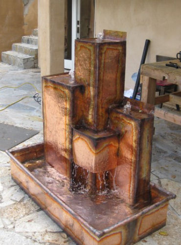 Copper Fountains -  Arrellano