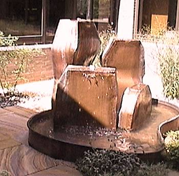 Copper Fountains -  West Deptford Public Library