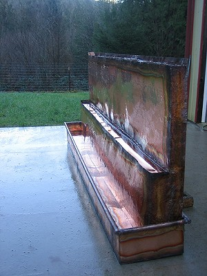 Copper Fountains - Sofritto Grill Fountain