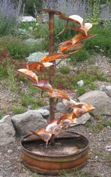 Copper Fountains - Tree of Life Fountain - 5ft